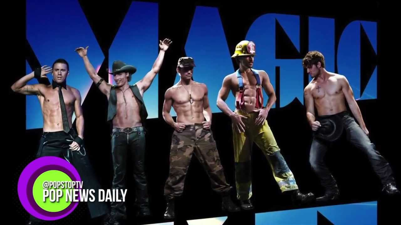 pics Channing Tatum Says the Magic Mike Musical Is Still a Thing