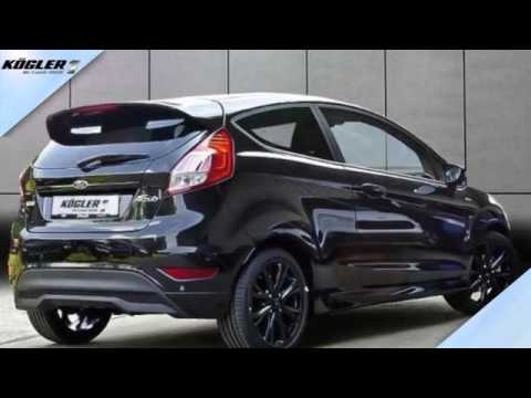 Ford Fiesta 10 EcoBoost STLine Black 21  YouTube