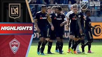 LAFC vs. Colorado Rapids | Can Vela Break MLS Goal Record? | HIGHLIGHTS