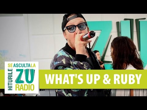 What's Up si Ruby - Taxi (Live la Radio ZU)