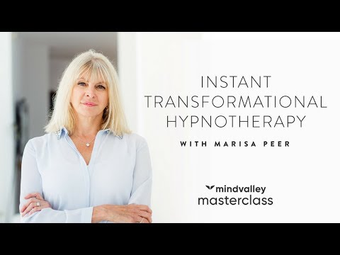 Instant Transformational Hypnotherapy With Marisa Peer - Mindvalley Masterclass Trailer
