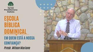 Escola Bíblica Dominical (03/05/2020) - Igreja Presbiteriana Itatiaia