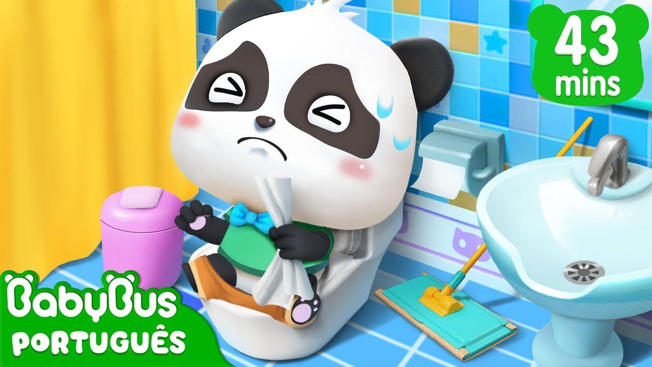 Download O Que Fazer Num Banheiro? | Bom Hábito | Vídeo Educativo | Desenho Infantil | BabyBus Português