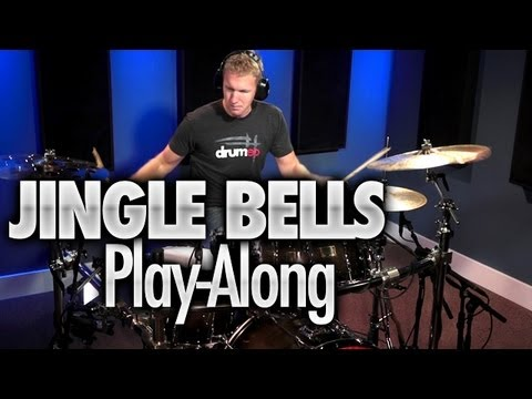 Jingle Bells Play-Along, from the Drumeo Crew!