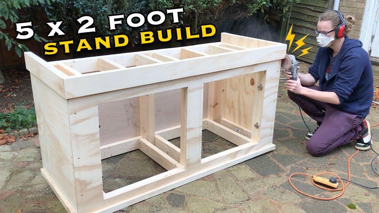 Building An Aquarium Stand 5 X2 X2 Part Two