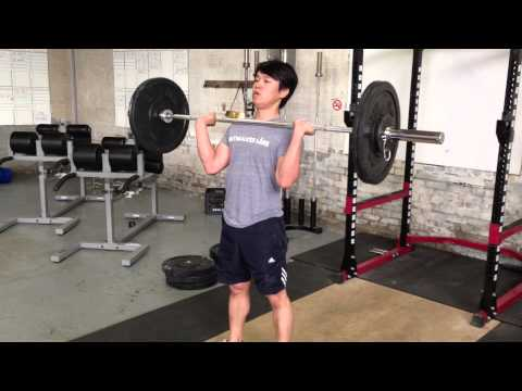Clean & jerk progress - June 1, 2013
