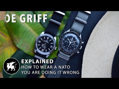 The BEST Way To Wear A NATO Strap