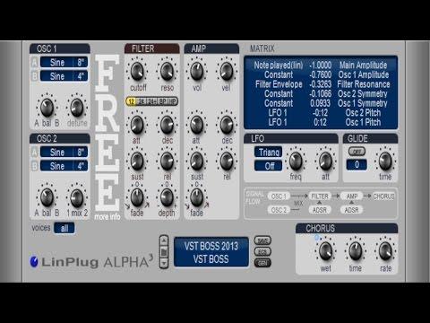 LinPlug Virtual Instruments FREE VST Plugin - Alpha