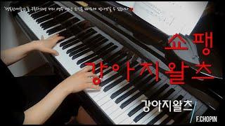 [쉬운클래식음악] 쇼팽 강아지왈츠 피아노연주:행복한예술가