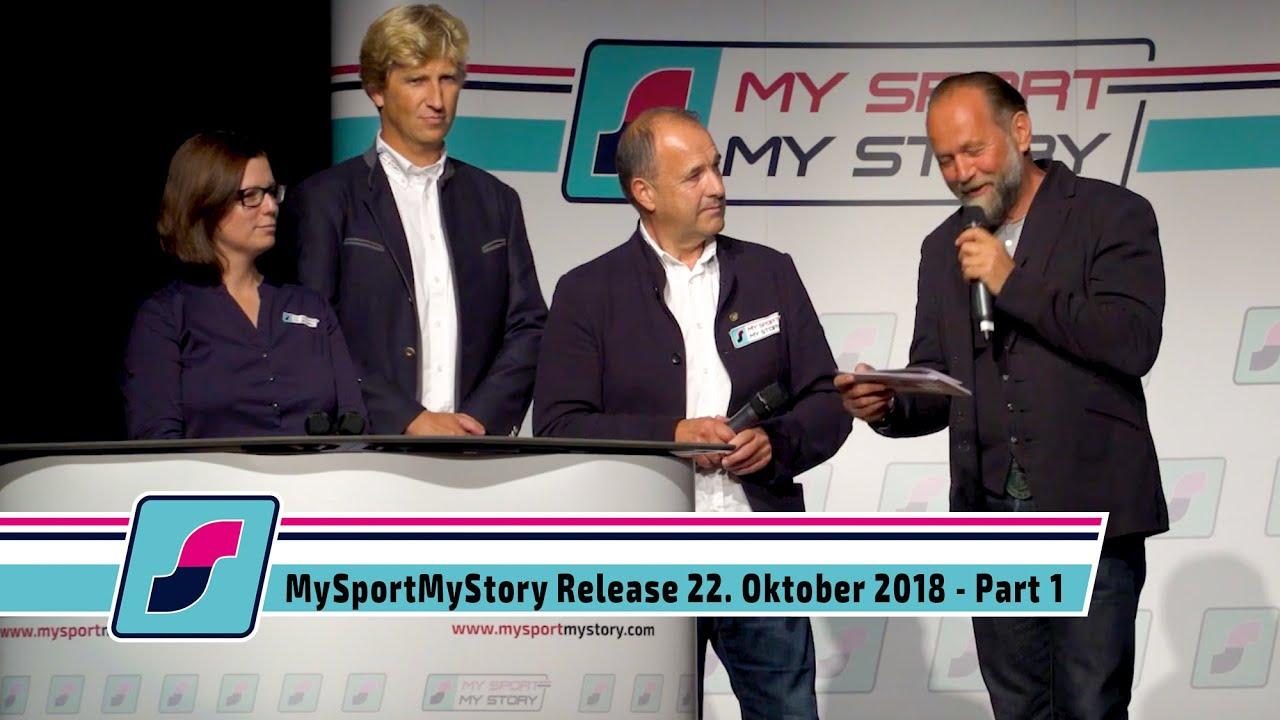 MySportMyStory Release am 22. Oktober 2018 - Part 1 - Die Gründer
