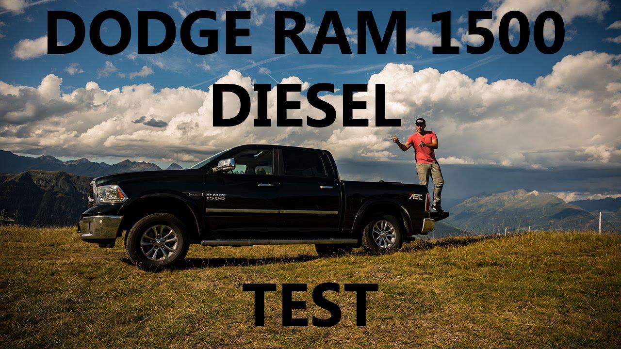youtube dodge ecodiesel ALLZWECKWAFFE! l DODGE RAM Laramie EcoDiesel l DRIVEN!-Test