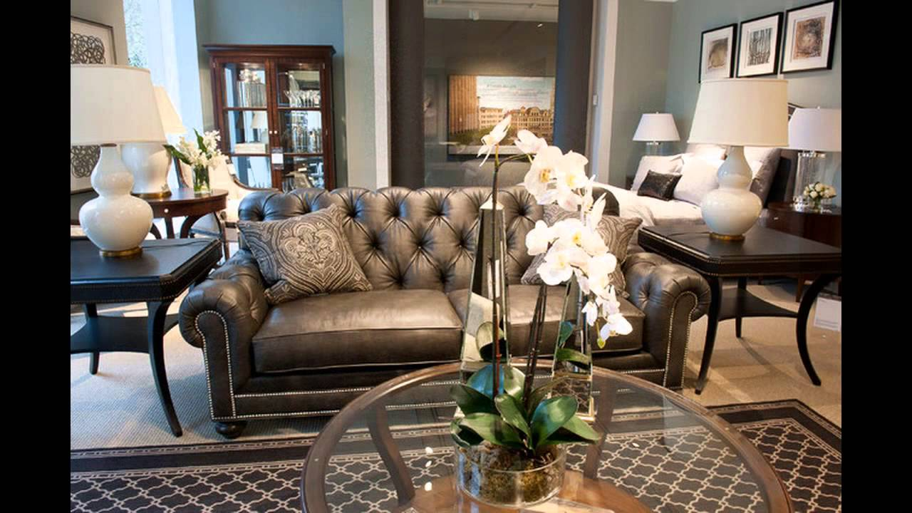 ethan allen living room furniture youtube