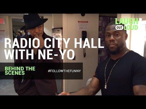 Kevin Hart Goes LIVE   BTS at Radio City Hall with Ne-Yo   LOL Network