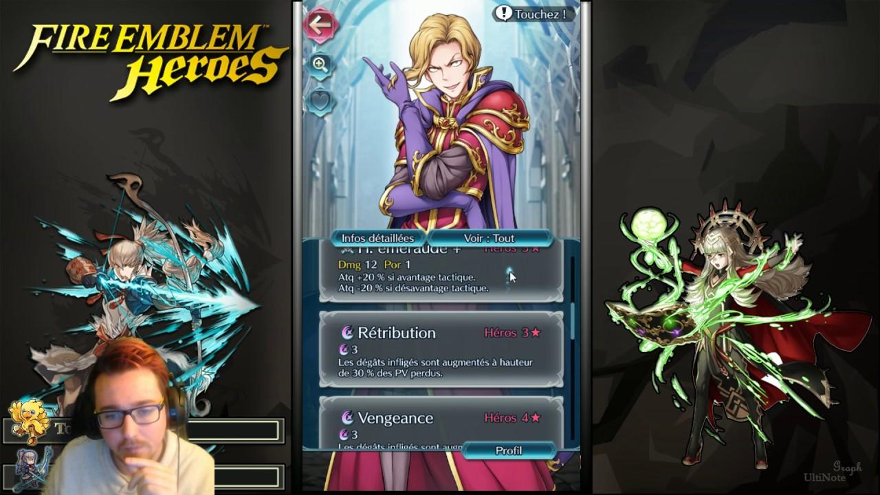 Guide Narcian Réflexion 1er Event Fire Emblem Heroes Fr Hd Youtube