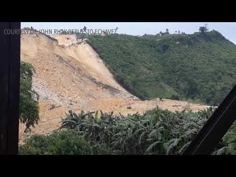 Landslide hits Naga, Cebu