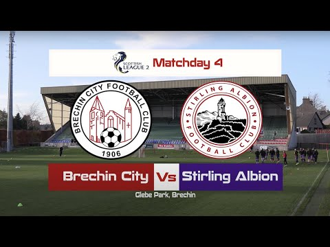 Brechin Stirling Goals And Highlights