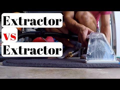 Best Detailing Extractor   Mytee Lite 8070 Heat vs Aqua Pro Vac