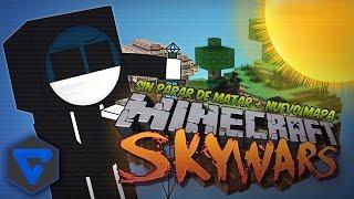 MINECRAFT: SKYWARS ! MATANDO SIN PARAR Y MAPA NUEVO BONES! + OP CHESTS