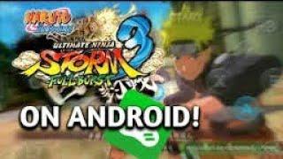 Como Baixar Naruto Shippuden Ultimate Ninja Storm 3 Para Android (Fraco/Médio)Sem lag