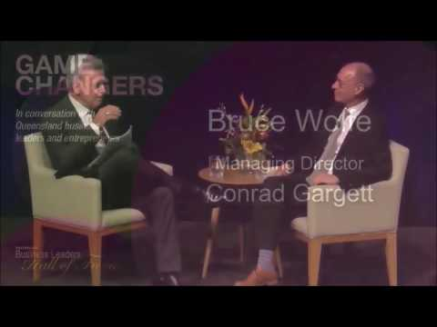 In conversation with Queensland business leader Bruce Wolfe