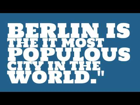 What is the population of Berlin?