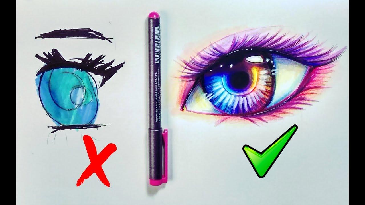 Que Hacer Y No Hacer Al Dibujar Ojos De Manga Sencillos Pasos