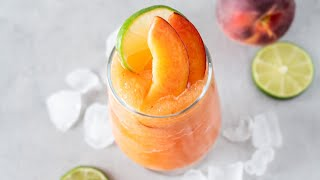 Frozen Peach Margaritas - Super Summer Cocktail!