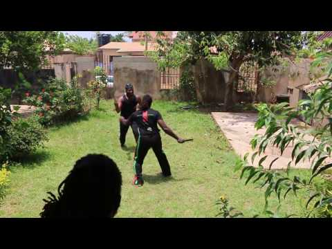 Abibifahodie Asako - Light Knife Sparring - Target from Legs down with No protection - 15 April 2017