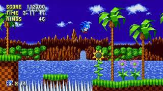 Sonic Mania weird glitch