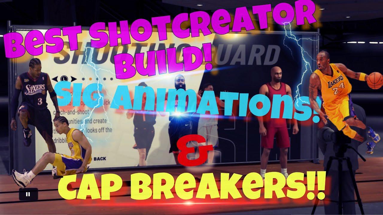 🐐Best Shot Creator Build, Sigs & Cap Breakers to 99 Overall!!