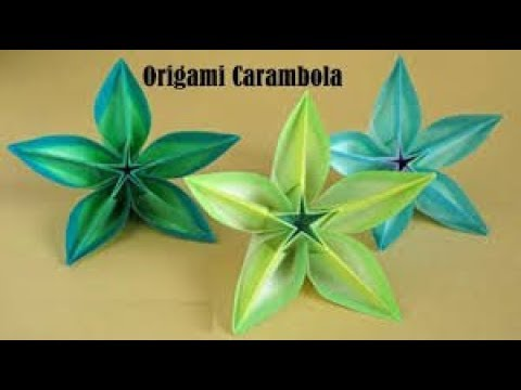 Carambola Origami Instructions