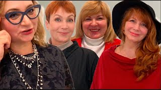 Аутфиты модниц Петербурга элегантного возраста Как одеваются россиянки 50 Женщины после 50