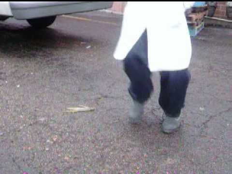 2003   OLIVER'S DOIN A FOOTWORK BEHIND THE BUTCHER SHOP