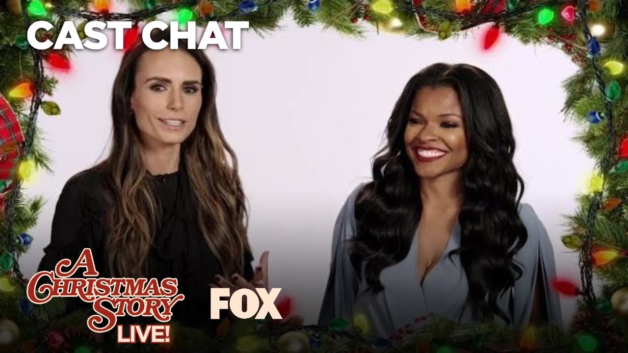 Jordana Brewster & Keesha Sharp\'s Favorite Christmas Story Part 1 ...