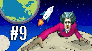 MISS T SPACE ME - Scary Teacher 3D Part 9 | Funny Android Full Gameplay