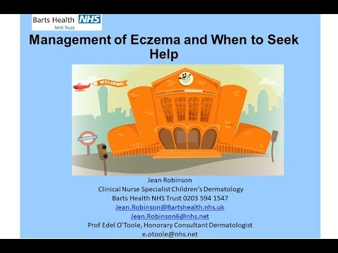 Management of Eczema and When to Seek Help