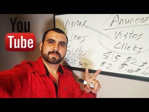 Como se gana dinero con YouTube y porque te pagan $$$