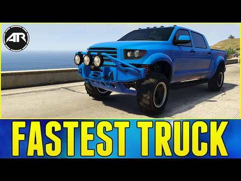 Gta 5 Online New Fastest Truck Toyota Tundra Build Vapid Contender You