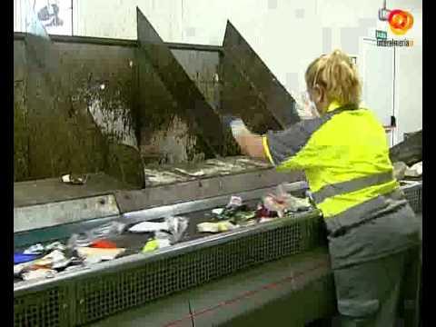 La planta de clasificación y compostaje recicla el 70% de la basura de la capital