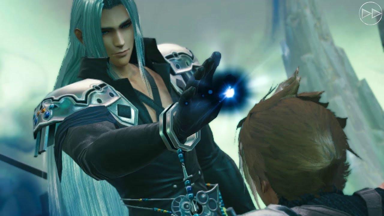 Cloud Vs Sephiroth Scene 3 Fatal Calling Final Fantasy Vii X Mobius Final Fantasy