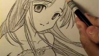 How to Draw an Innocent-Looking Manga Girl [HTD Video #11](OFFICIAL CRILLEY PLAYLIST: http://bit.ly/CRILLEYPLAYLIST All 3