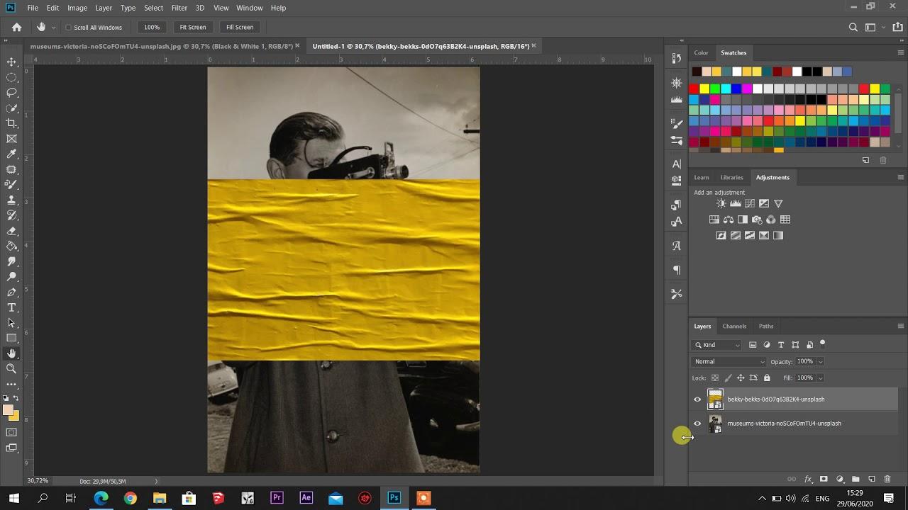 Menambahkan Tekstur Kertas Pada Foto di Adobe Photoshop ...