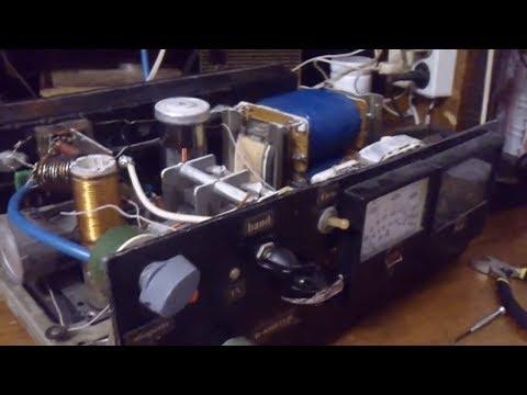 видео: Тест усилителя 2хГУ-50 для КВ трансивера.