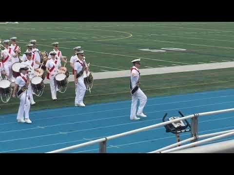US Merchant Marine Academy Band Pass and Review- Iowa Brigade