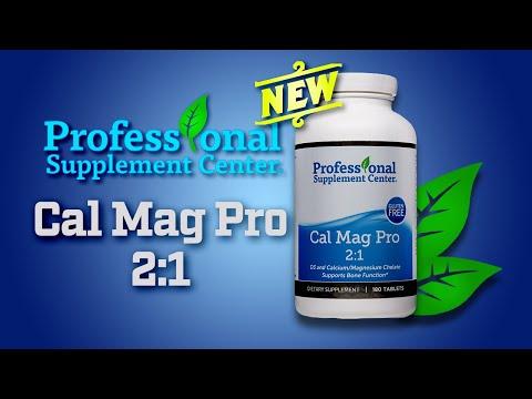 Cal Mag Pro 2:1 - Pharmaceutical Grade Vitamin D3 Calcium Magnesium Supplement