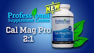 Cal Mag Pro 2:1 - Pharmaceutical Grade Vitamin D3 Calcium Magnesium Supplement