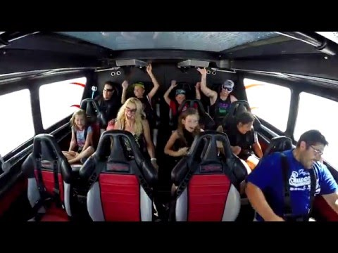 Ocean Jet Boat Ride Reactions - Offshore Jet Boating Experience On The Gold Coast In Queensland