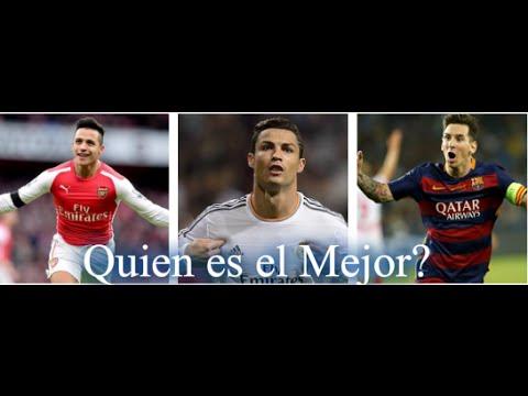 las mejores jugadas y goles de Alexis Sanchez Cristiano Ronaldo Y Lionel Messi