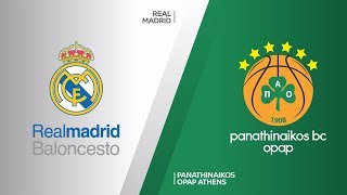 Real Madrid - Panathinaikos OPAP Athens Highlights | Turkish Airlines EuroLeague, RS Round 26