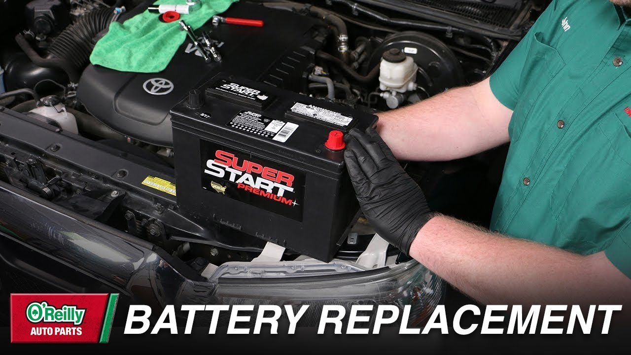 How To Change A Car Battery 2020 The Drive